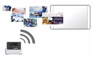 PREMIUM 4G対応で最速225Mbpsの高速通信を実現